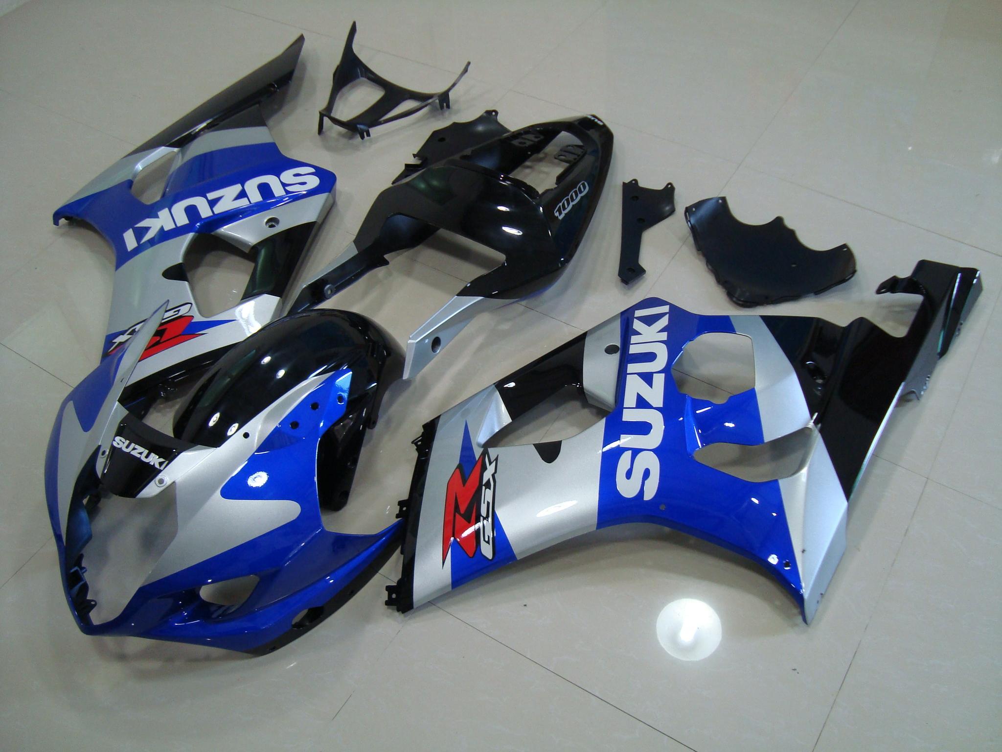 GSX-R1000 2003-2004 BLUE&SILVER