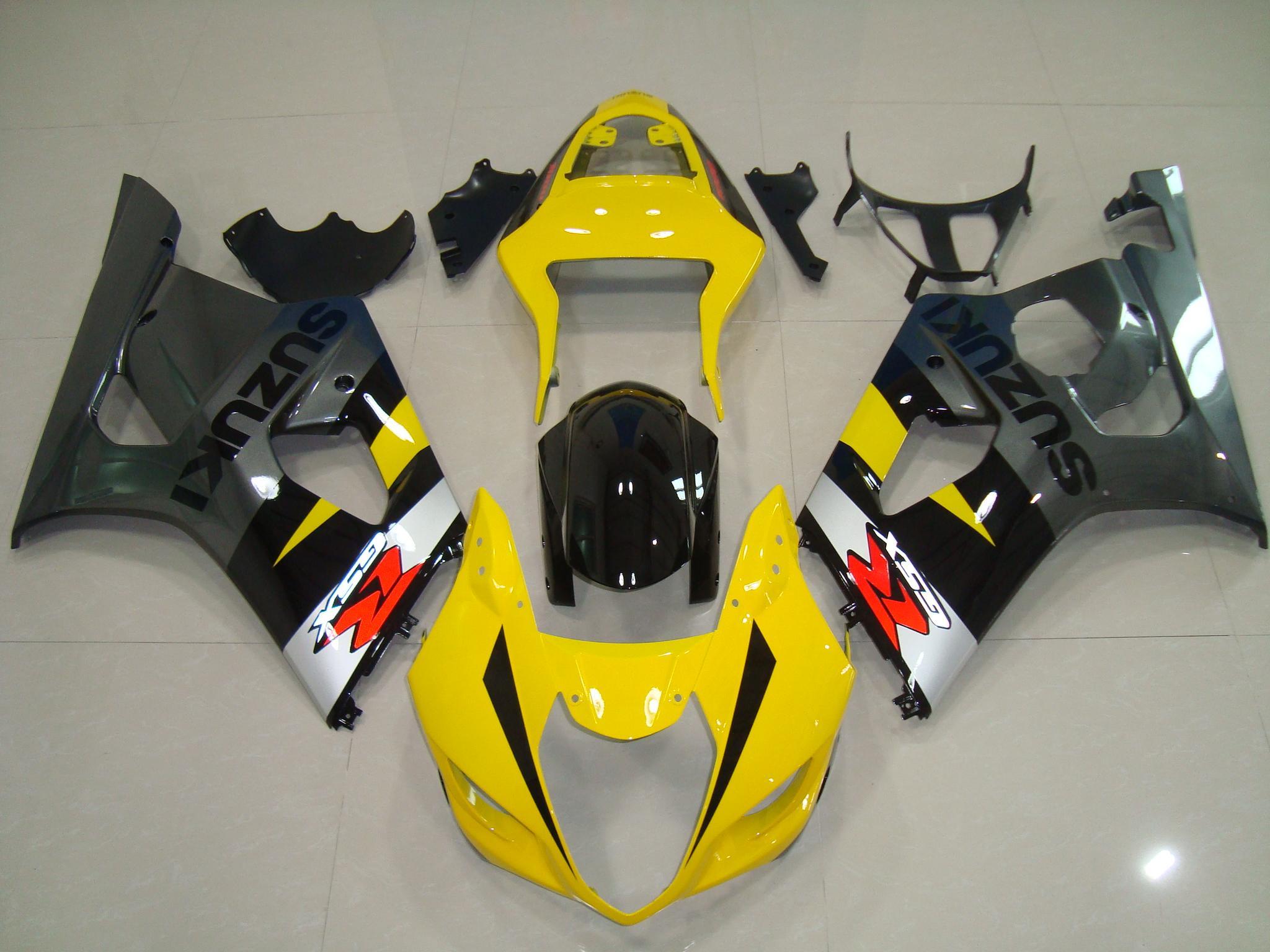 GSX-R1000 2003-2004 YELLOW&GREY