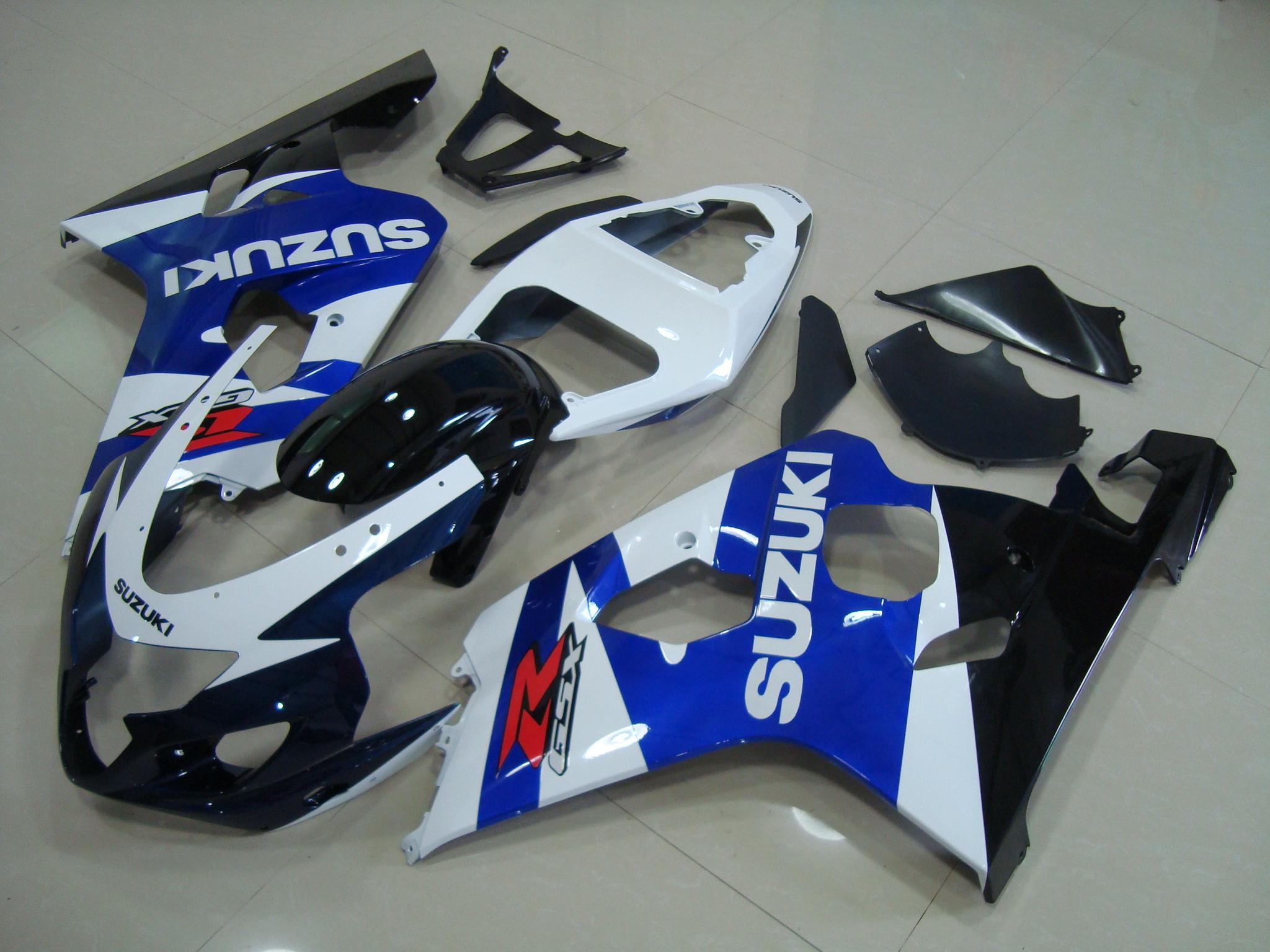 GSX-R750 600 2004-2005 BLUE&BLACK