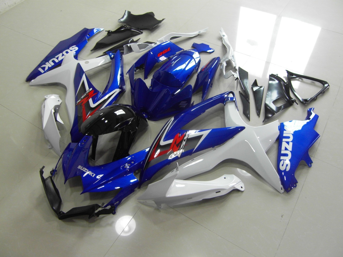GSX-R750 600 2008-2010 BLUE FAIRING KIT