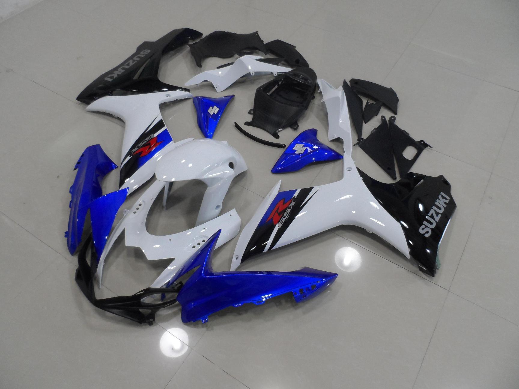 GSX-R750 600 2011-2014 BLUE BLACK WHITE